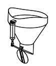 Заслонка системы выгрузки в мешок с управлением электро-пневматическим цилиндром