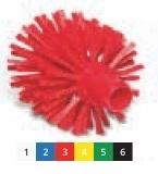 Щетка моющая для труб средней жесткости o 120х120х145 мм., белый