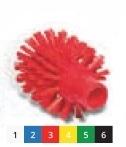 Щетка моющая для труб средней жесткости o 90х105х130 мм., белый