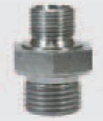 """Переходник штуцер 1/8""""; штуцер 1/4"""""""