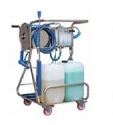 """Моб. установка  с пеногенер. системой """"Foam & Wash"""", 10-100 бар, с подачей воздуха, на 2 ср-ва"""