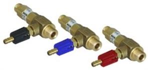 """Удлиненный регулируемый эжектор для моечных средств сопло 1,4; вход 3/8""""ш- выход 3/8""""ш. (красный)"""