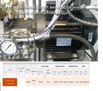 Насос плунжерный MTP FWS2 15.150T 220-380/60 NK HT с эл. двигателем 5,5 Квт 220-380 В