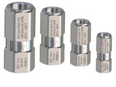 Обратный клапан VNR-I вход 3/8 г. выход 3/8 г. 40 л/мин 450 бар  нерж. сталь