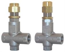 Клапан предохранительный VS 24 - VS 43 - Aisi 303 (нерж.); вход 1/2г, 80 л/мин 310 бар