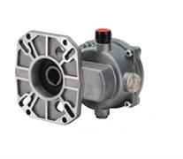 """Редуктор B10 для двигателей внутреннего сгорания 7-10 л.с. вал дв. 25,4 мм - 1"""" вал насос 24 мм"""