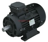 Двигатель 5,5 кВт 380B, H112  вал d28мм с напольной установкой