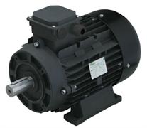 Двигатель 7,5 кВт H132S вал d 24 мм с напольной установкой
