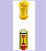 Распылитель Geoline AD-IA/D 110-025.D фиолет. (керам.) с подачей воздуха