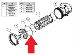 "Уплотнительное кольцо 3""х68,3х3,5"