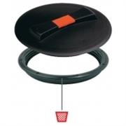 Крышка O 250 мм. с клапаном+кольцо (без прокладки)