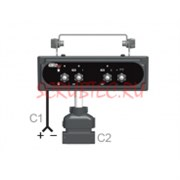 Блок управления Compact 10 W 2V+P+G (RI)