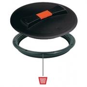 Крышка O 350 мм. с клапаном+кольцо (без прокладки) 1