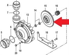 Рабочее колесо насоса C610