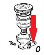 Кронштейн для крепления стакана для уровня масла APS 101 -121