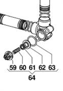 Клапан в сборе насоса IDS960 (1х8)