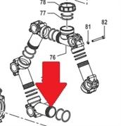 Всасывающий корпус насоса BP300 - BPS330HS (1х5)