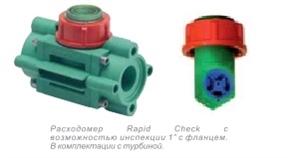 Расходомер, 10-100 л/мин., 50 бар, 12 В
