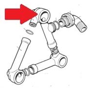 Всасывающий корпус насоса BP105 - BP125 (1х1)