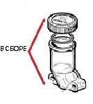Бачок для масла насоса в сборе BP105 - BP125