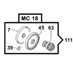 Ремкомплект насоса серии MC 18: мембрана NBR (KIT111)