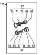 Ремкомплект насоса серии BP300: клапаны (KIT123)