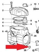 Кольцо 2,62X15,54 насоса BP20, MP20, MP30 (1х2) и узлов управления