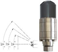 Насадка для мойки поверхностей А43 FR2 с гидроприводом; 20-25 л/мин; 140 бар;(нерж).вход 1/2г.