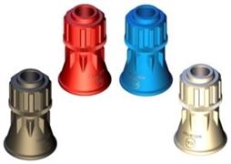Пластиковая защита форсункодержателя синяя