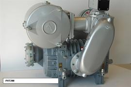 Насос вакуумный JUROP PVT 200 ATEX, левое вращение, с редуктором