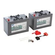 Комплект батарей, 24 V, 76 Ah, необслуживаемая Комплект батарей, 24 V, 76 Ah, необслуживаемая 40354470