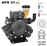 Насос мембранный Comet® серия APS 31 (25 л/мин; 40 бар); элемент соединительный под 6 болтов