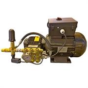 Насос плунжерный FW2 21/150 с эл. двигателем 380 В 5,5 кВт c эл. бл. управления и системой Bypass