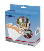 Комплект пылесборников для Nilfisk Buddy II, 4 шт